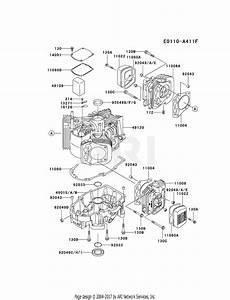 Kawasaki Fh721v Crankcase