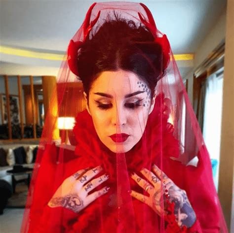 kat von d s wedding was an occult elite ritual the