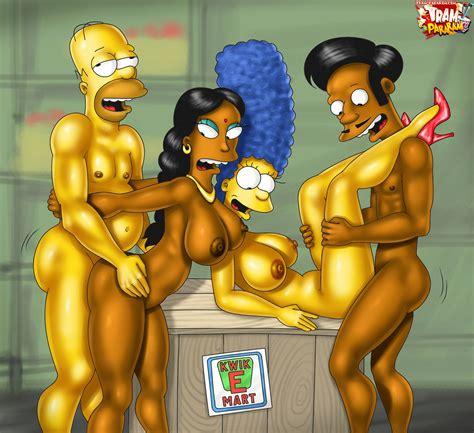 Rule34hentai We Just Want To Fap Image 103299 Apu Nahasapeemapetilon Homer Simpson Manjula