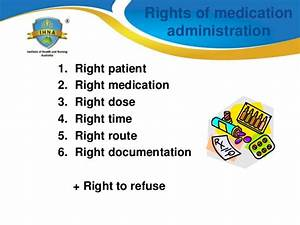 medication administration and calculation for nurses With 6 rights of medication