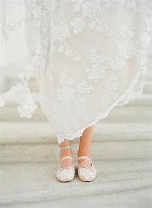 romantic wedding dress pretty ballet flats onewedcom With wedding dress flats