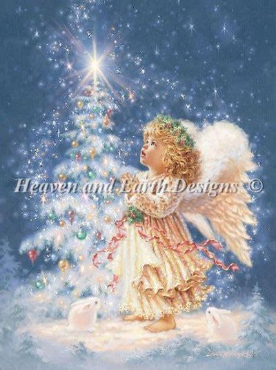 christmas   heaven  earth designs cross
