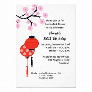 40th birthday ideas japanese birthday invitation templates With wedding invitation templates japanese