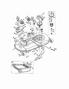 46 U0026quot  Deck Diagram  U0026 Parts List For Model 247286040