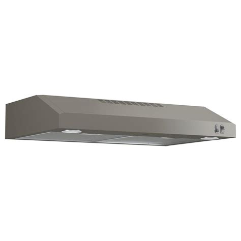 under cabinet vent hood installation ge 30 in under the cabinet convertible range hood in