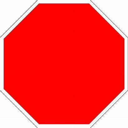 Stop Octagon Blank Sign Printable Svg Clipart
