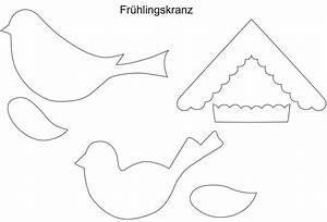 Frühlingsdeko Basteln Vorlagen : t rkranz basteln basteln ~ Lizthompson.info Haus und Dekorationen
