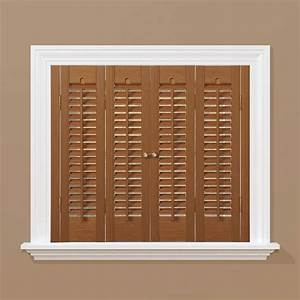 wood shutters interior shutters blinds window With home depot window shutters interior