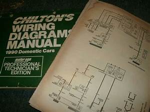 1990 Geo Prizm Oversized Wiring Diagrams Schematics Manual