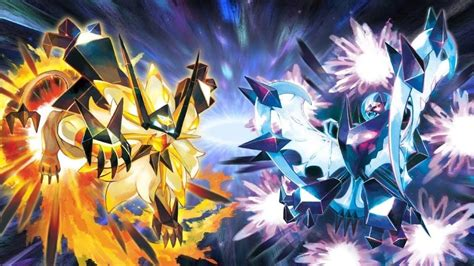 The Legendaries In 'Pokémon Ultra Sun' And 'Pokémon Ultra ...