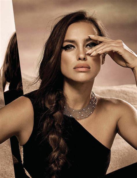 Irina Shayk Is A Dusky Goddess For Vogue Mexico October 2017