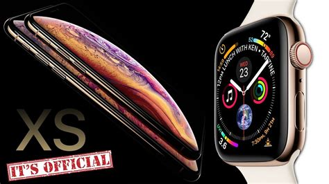 iphone xs apple 4 official leak by apple