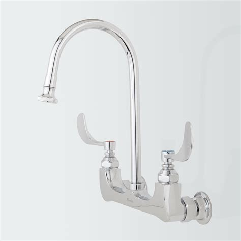 delta wall mount kitchen faucet delta wall mount kitchen faucet with sprayer