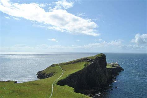 Travel Trip Journey Neist Point Lighthouse Glendale Isle