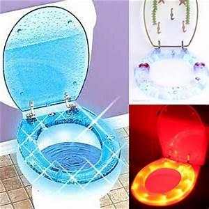 Wc Sitz Led : 3d led toilettendeckel klodeckel wc sitz klobrille brille ~ Buech-reservation.com Haus und Dekorationen