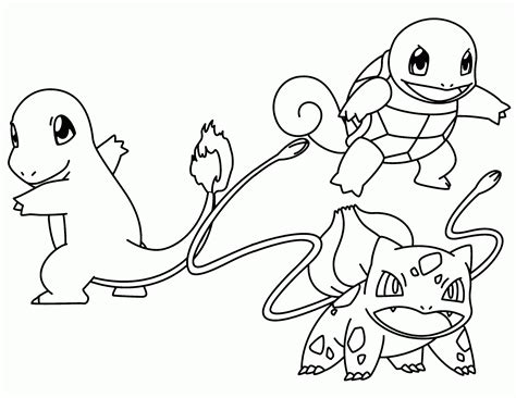 Pokemon Coloring Pages Charmander Printable