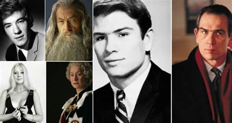 10 Great Actors Pictured Then And Now