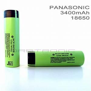 18650 Battery Review  Test  Specs 2018  Panasonic