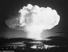 nuclear explosion ...