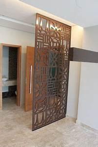 claustra sur mesure faisant office de coin cuisine With peindre escalier en bois 9 paravent en bois sur mesure par allure et bois