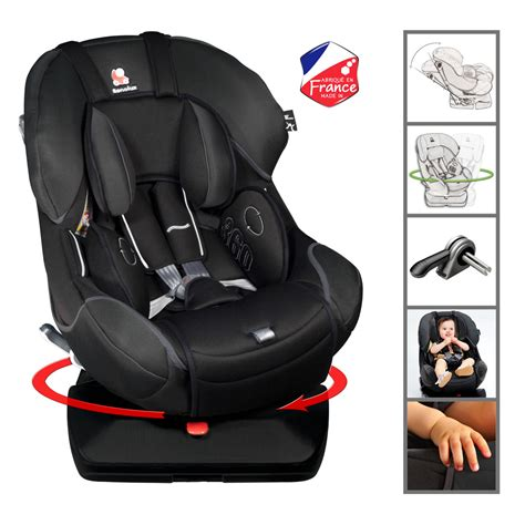 siege auto renolux 360 siège auto 360 total black groupe 0 0 1 de renolux