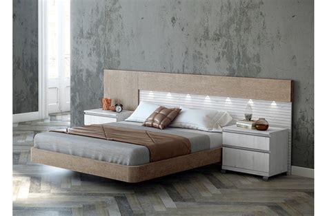 chambre coucher adulte lit adulte design avec chevets trendymobilier com