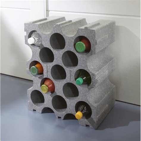casier de 15 bouteilles en polystyr 232 ne leroy merlin