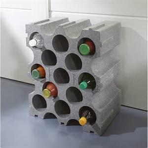 Casier A Bouteille Leroy Merlin : casier 15 emplacements polystyr ne leroy merlin ~ Mglfilm.com Idées de Décoration