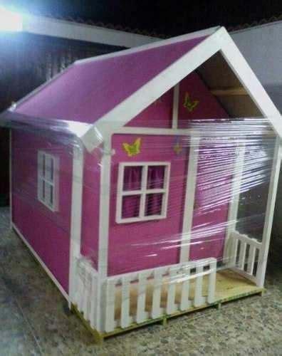 casa pequena de nina en madera ideal  jardines bs
