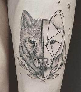 Signification Animaux Tatouage : wolfs tattoo 20 tattoo ideen f r frauen ~ Dode.kayakingforconservation.com Idées de Décoration