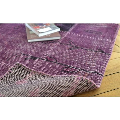 tapis gris et prune tapis luminous prune duarte espina with tapis gris et prune awesome