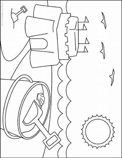 Summer Coloring Pages Holiday Coloring2print