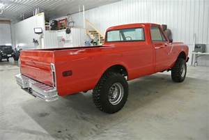 Purchase Used 1972 Chevrolet K20 4x4 4 Speed In Spencer