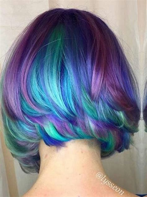 Hair With Color Underneath by 25 Best Ideas About Purple Underneath Hair On