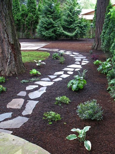 walkway plants low maintenance looks great walkway of flagstone offset with a simple planting garden