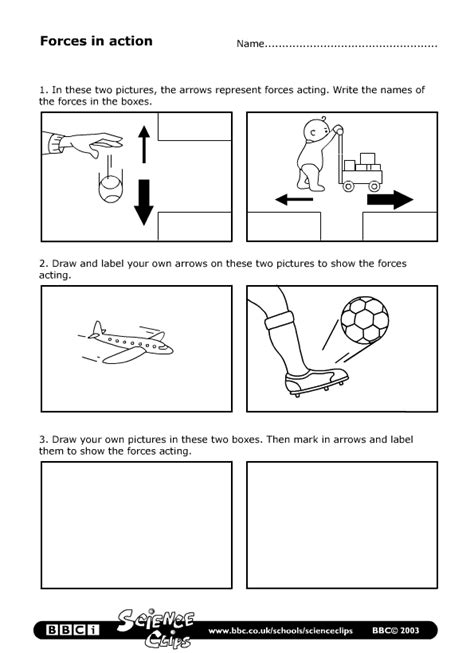 science year  worksheets