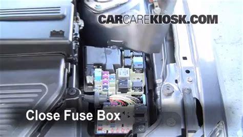 2008 Mazda 3 Fuse Box Location by Blown Fuse Check 2004 2009 Mazda 3 2008 Mazda 3 S 2 3l 4