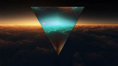 Gaming Abstract Wallpapers 1080p Dark Triangle Figure