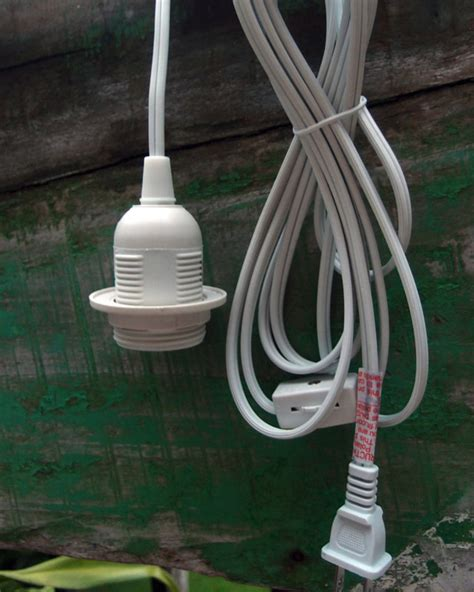 single socket pendant light cord kit for lanterns 15ft