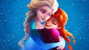 Frozen Sisters Elsa Anna 4K Wallpapers | HD Wallpapers ...