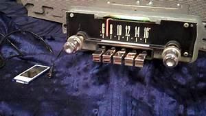 1965 66 Ford Galaxie Original Am Radio