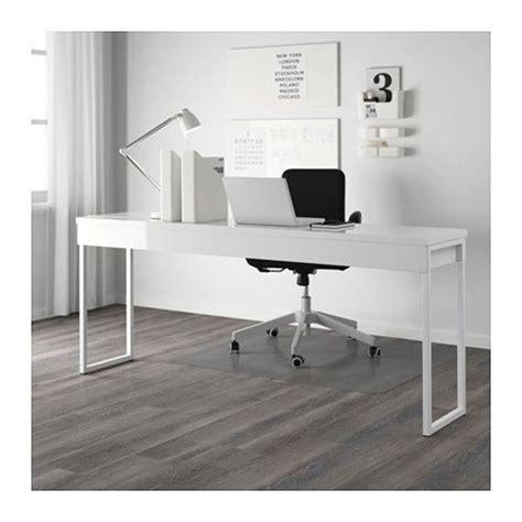 besta bureau bestå burs desk high gloss white bureau