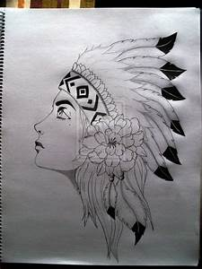 Native American Girl by sniraharon on DeviantArt