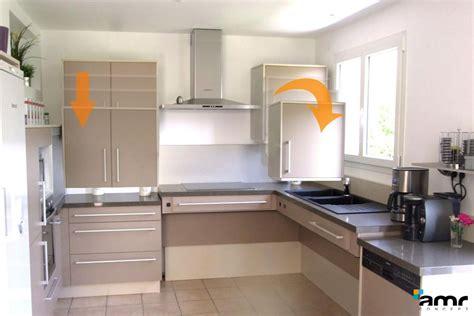 hauteur ent haut cuisine meuble cuisine en hauteur cuisine en image