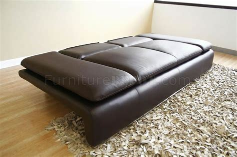 Leather Sleeper Sofa Set by Modern Leather Sleeper Sofa Loveseat Set W Adjustable Arms