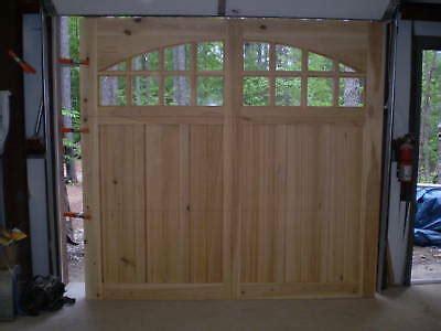 9x7 Garage Door by 9x7 Cypress Carriage House Garage Door