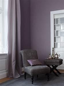 Wandfarbe Für Wohnzimmer : edle wandfarbe lila t ne sorgen f r extravaganz wohnen einrichten pinterest wandfarbe ~ One.caynefoto.club Haus und Dekorationen