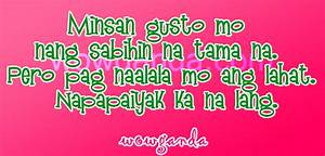 BREAK UP QUOTES TAGALOG 2014 image quotes at relatably.com
