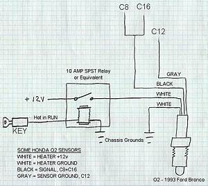 How To Wire A 4 Wire O2 Sensor In A Cx With One Wire