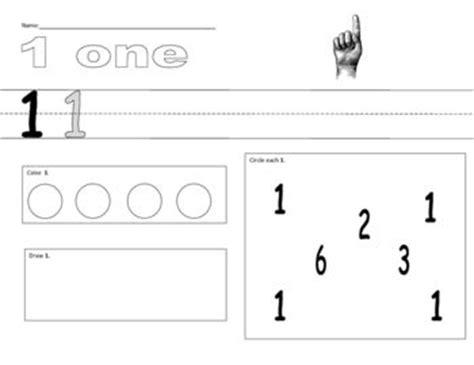 numbers 1 10 worksheets math for kindergarten pinterest
